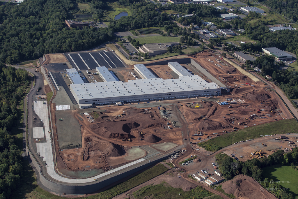 FedEx Facility in Middleton, Connecticut. We've built metal buildings for major corporations.