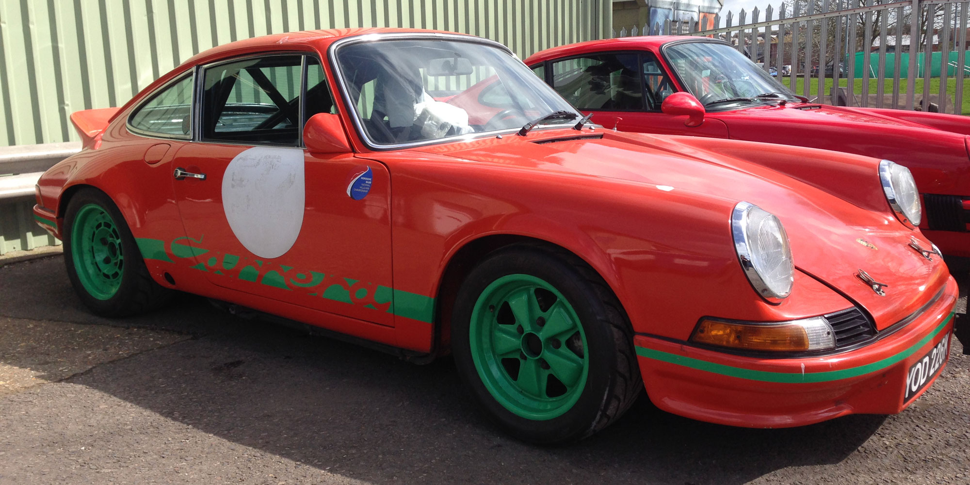 Track ready Porsche