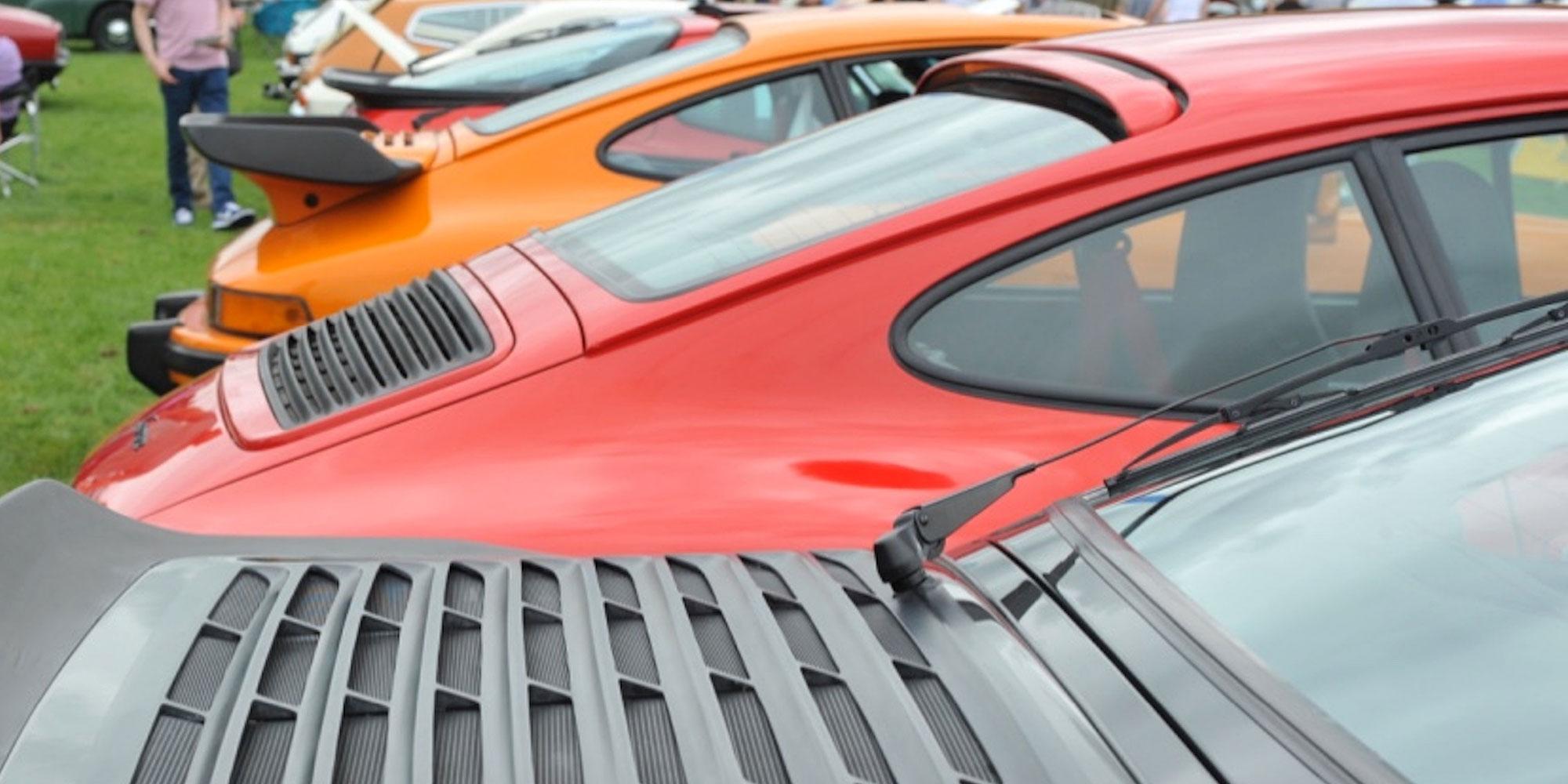 Porsche rears