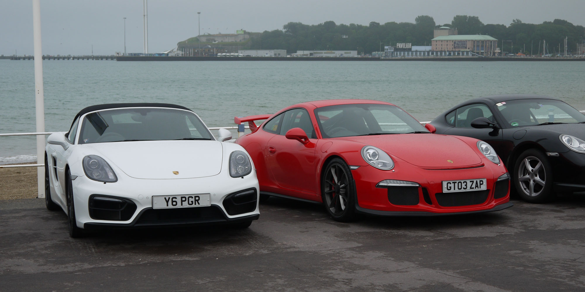 Porsche club at Weymouth