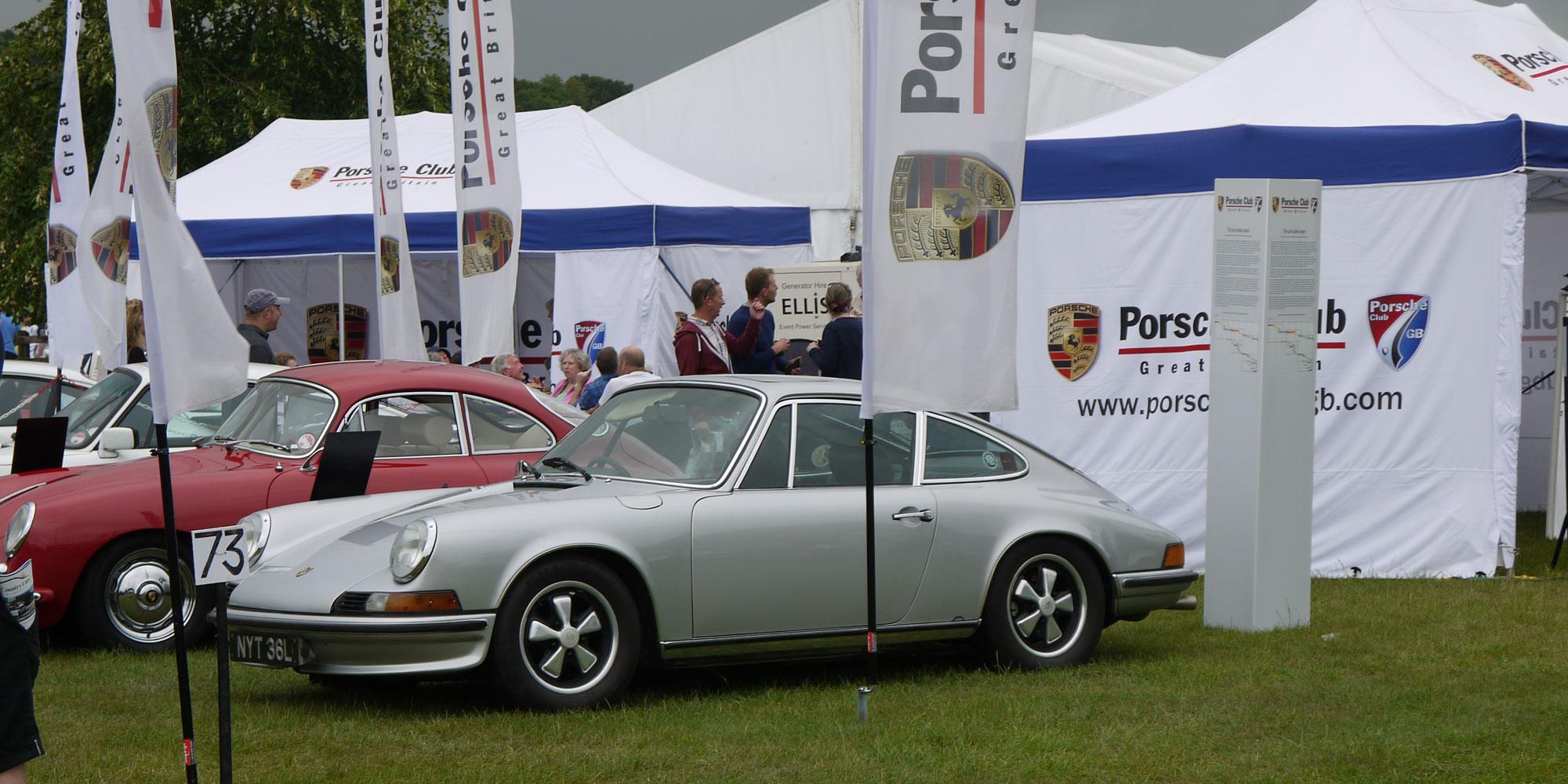 Porsche Club GB stand