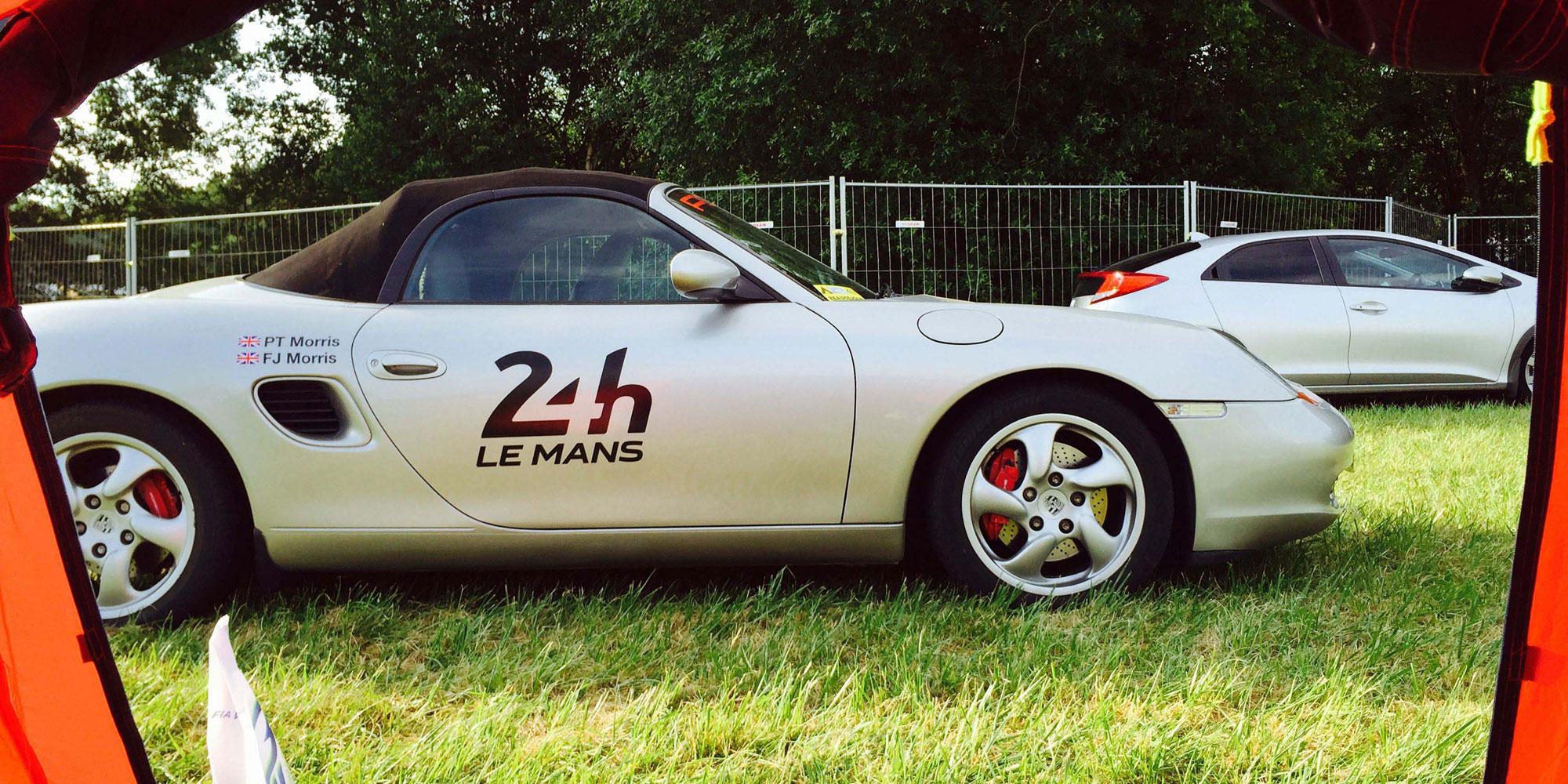 At Le Mans