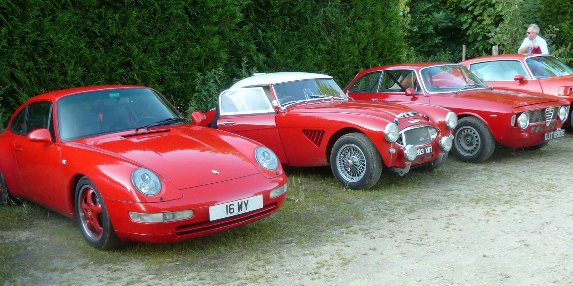 Show your Porsche