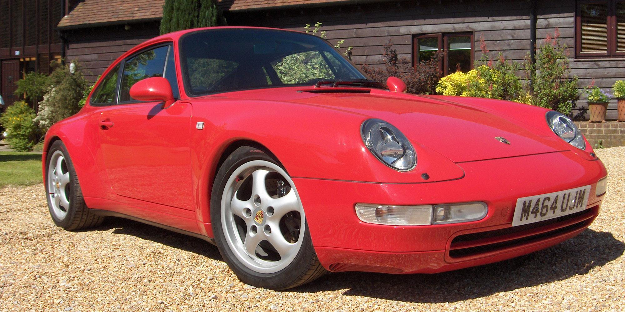 Colin's Porsche