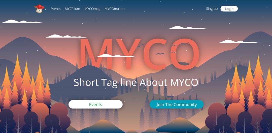 mycolove.com homepage screenshot