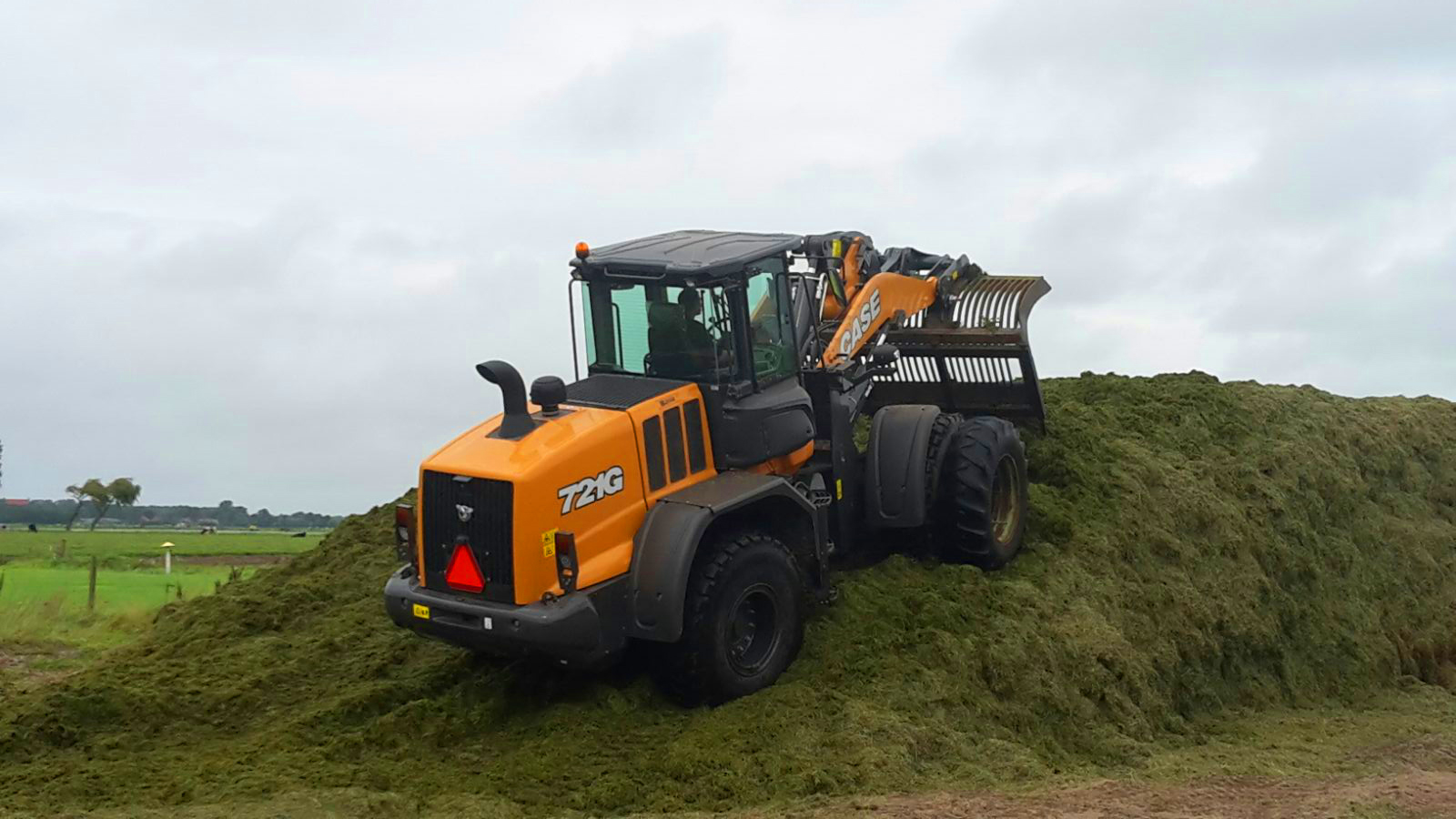 CASE 721G Wheelloader