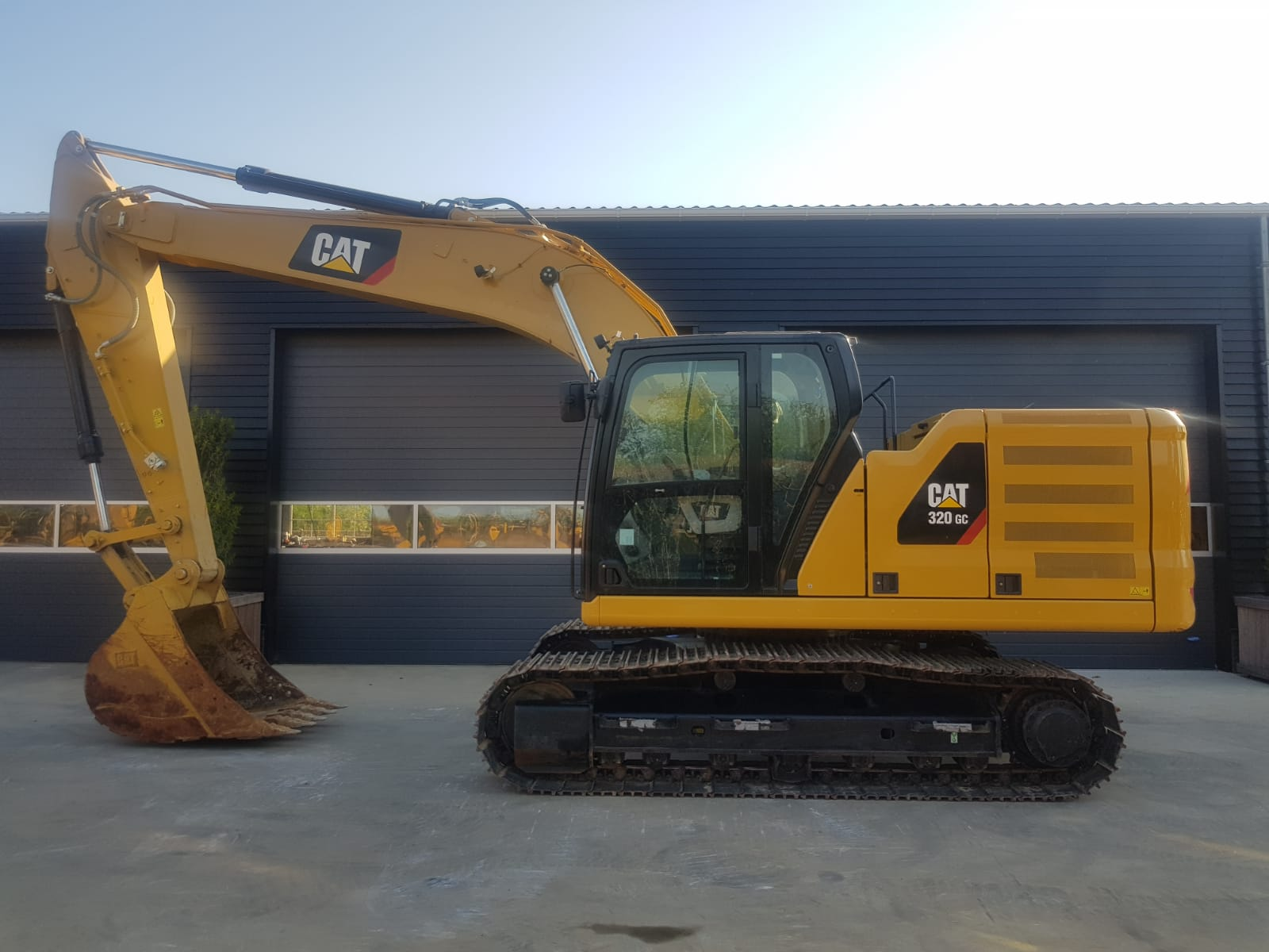 CATERPILLAR 320 GC NEXT GENERATION