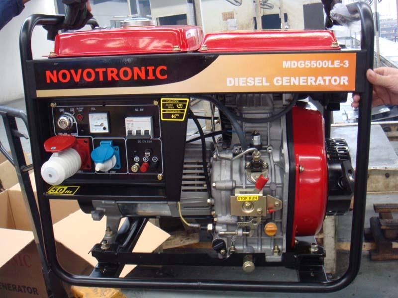 NOVOTRONIC DIESEL GENERATORS 220V & 380V