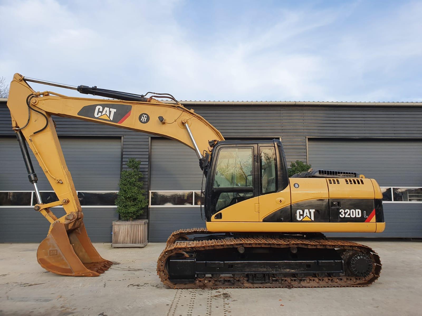 caterpillar 320 DL track excavator