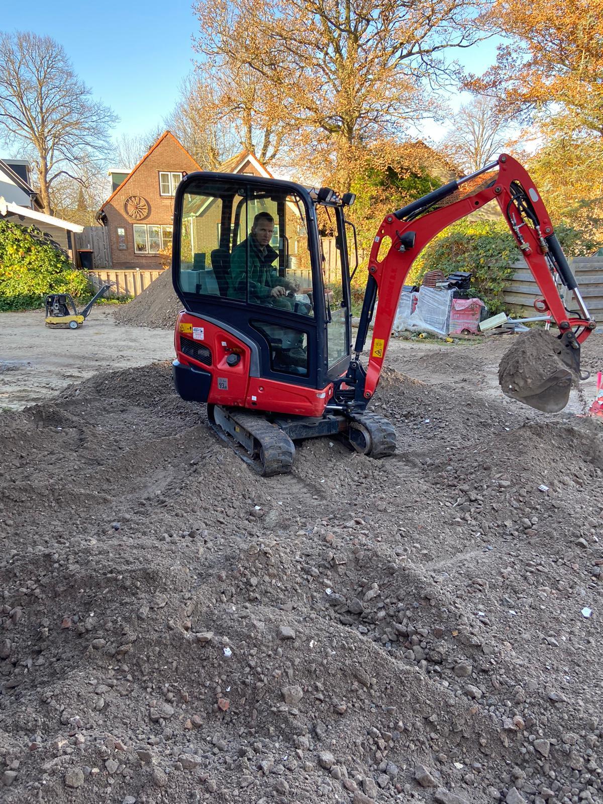 Kubota KX019-4 mini excavator