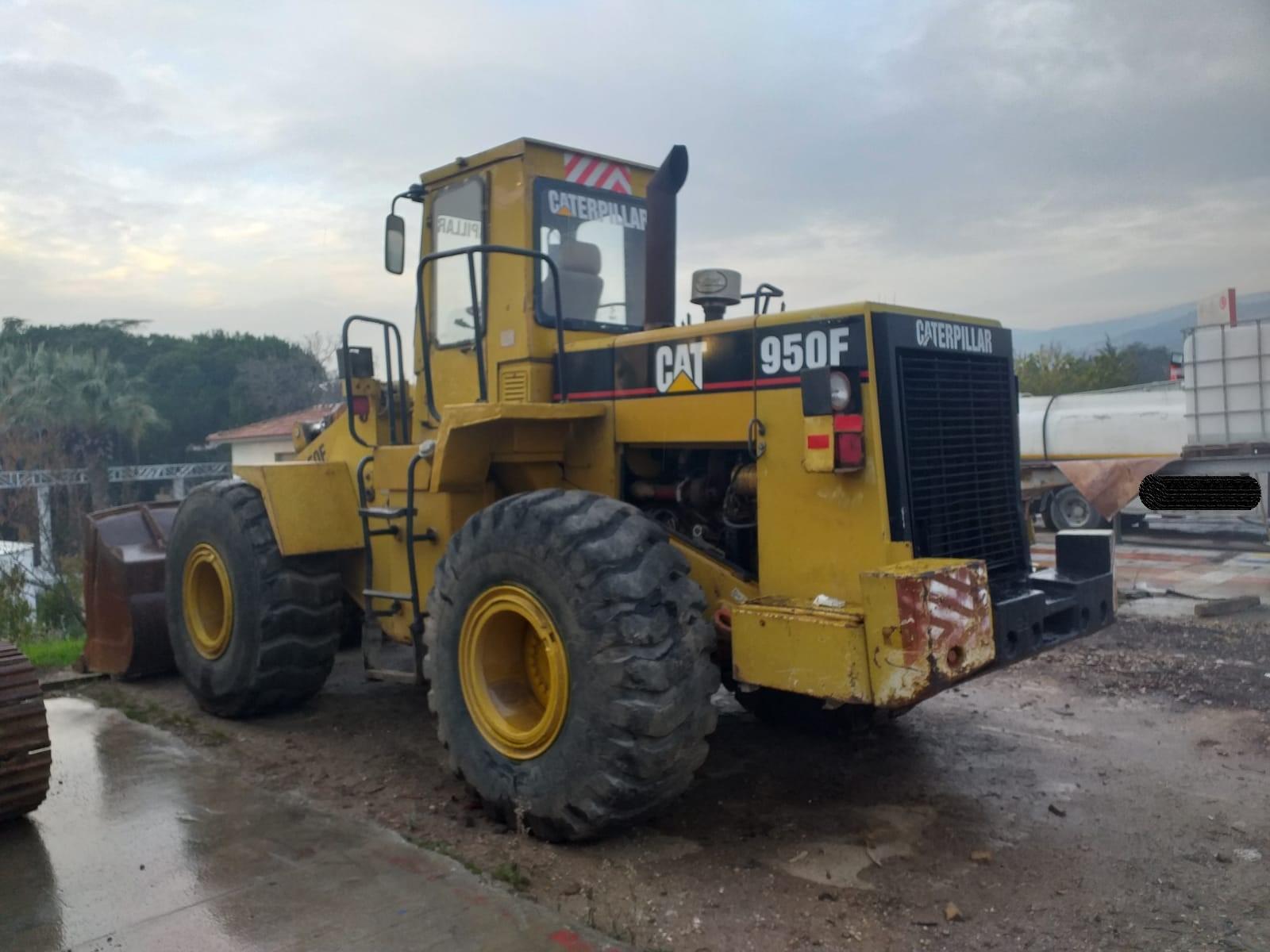 Caterpillar 950F Wheelloader