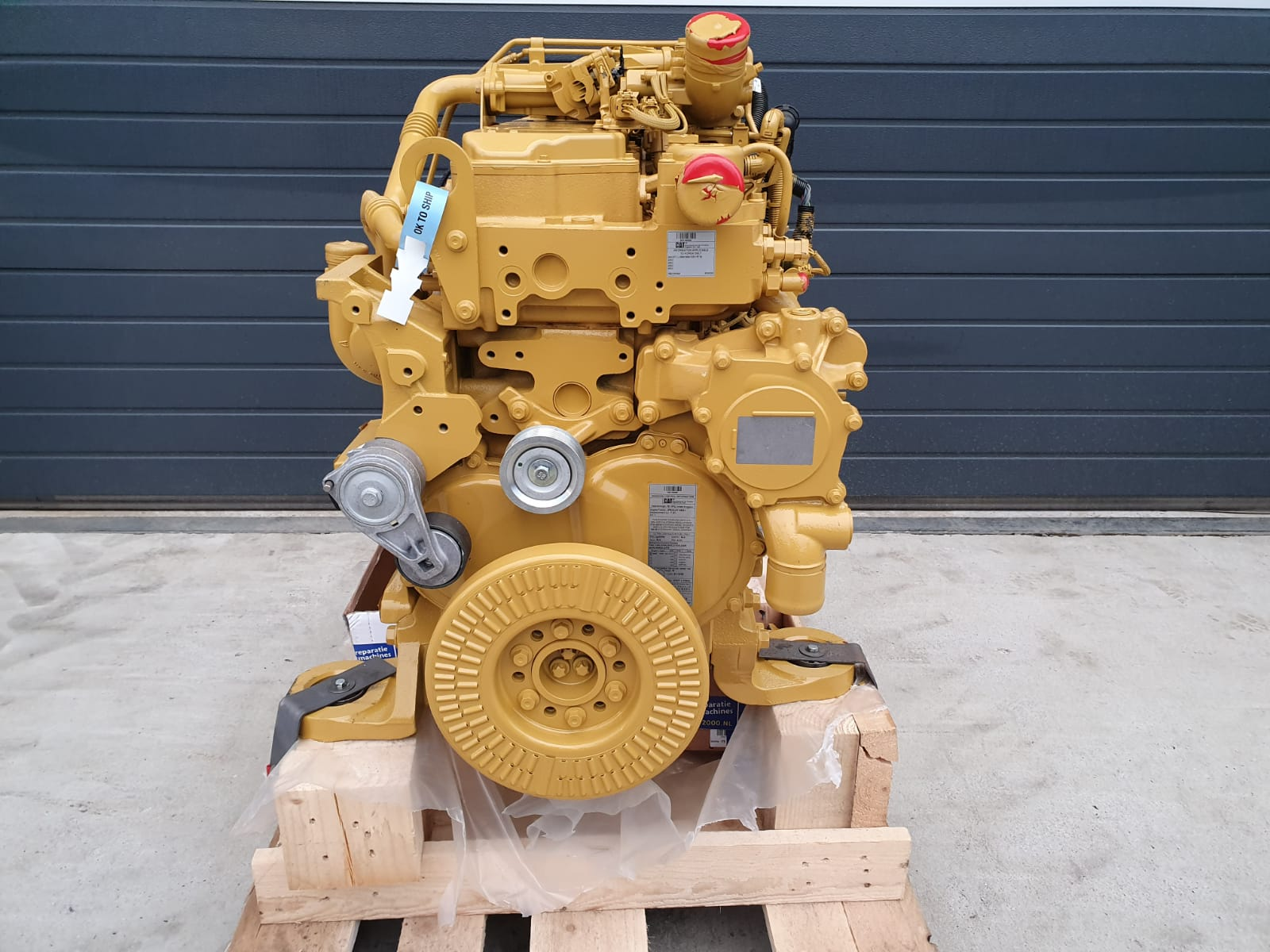 New Caterpillar C7.1 Engine