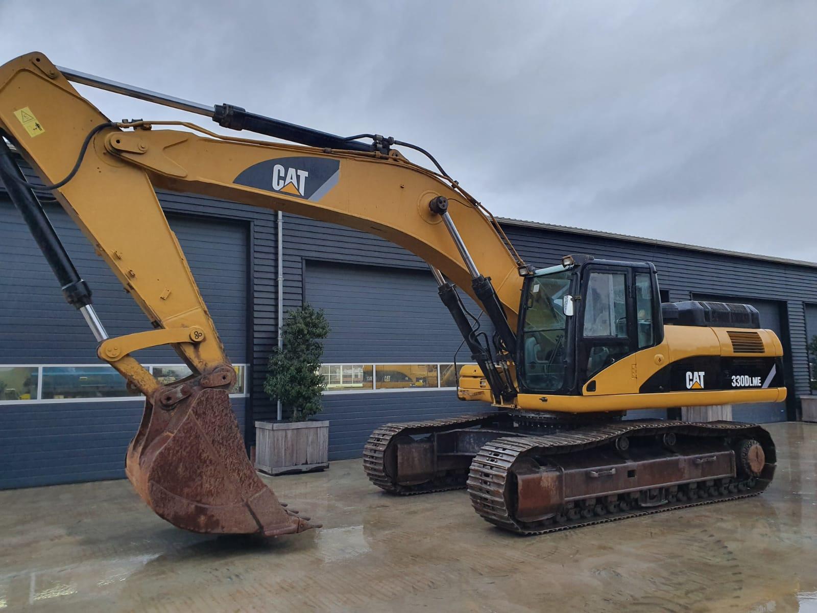 Caterpillar 330DLME Track excavator