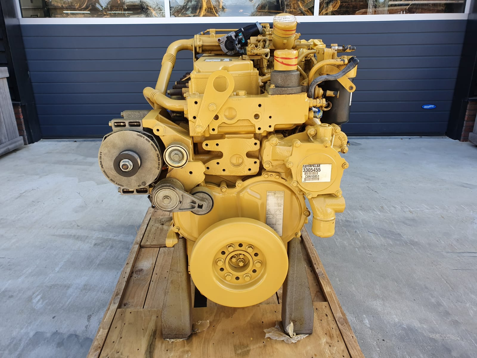 Caterpillar C6.6  engine total rebuild