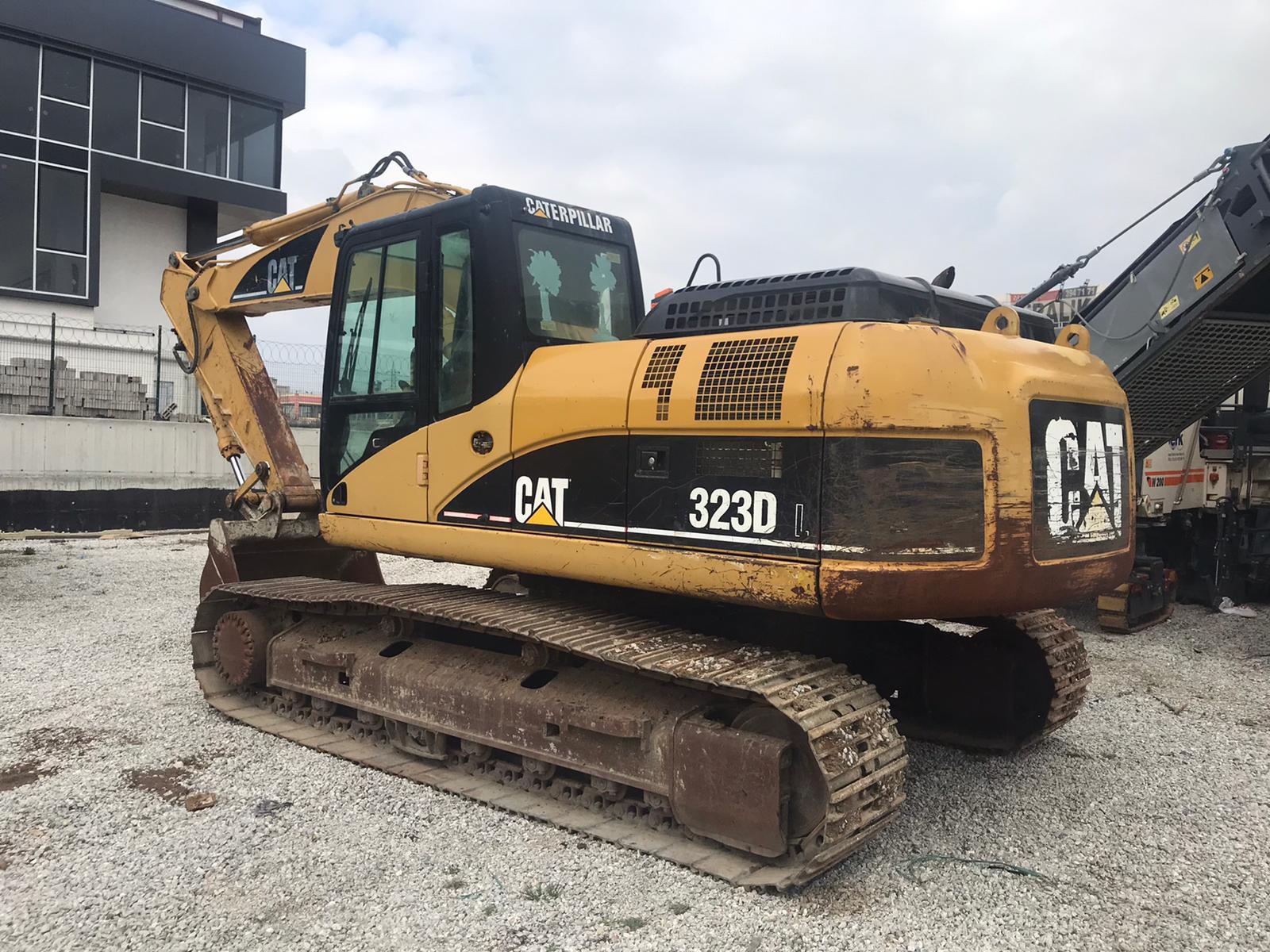 Caterpillar 323DL Track excavator