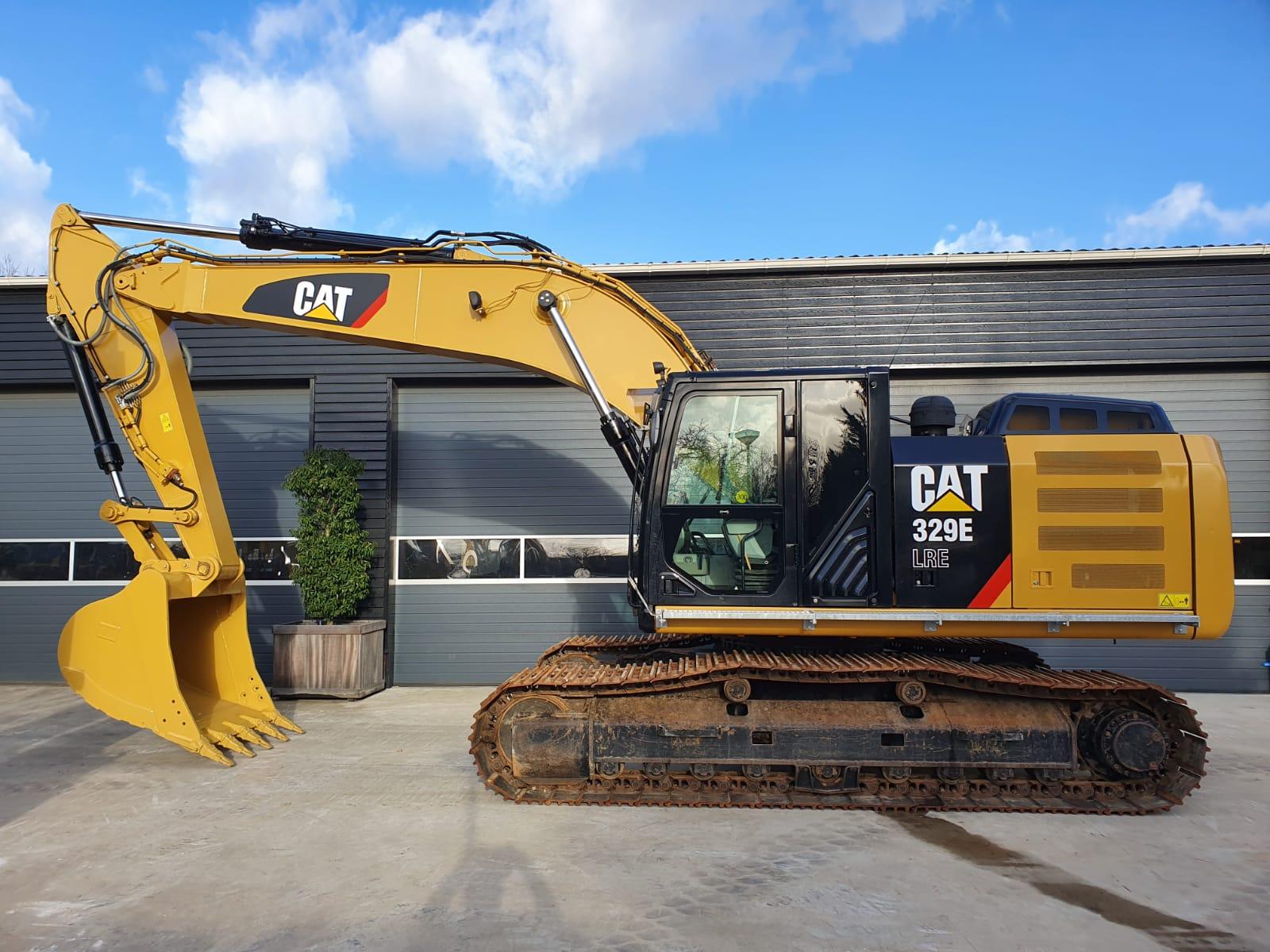 Caterpillar 329E Track excavator