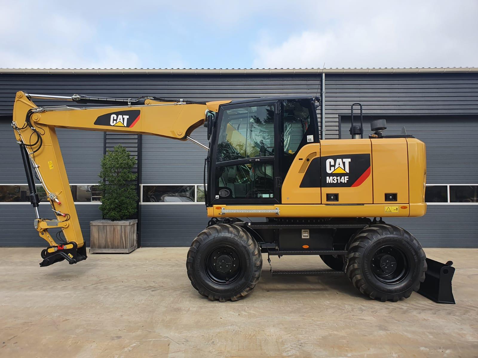 Caterpillar M314F Wheeled excavator
