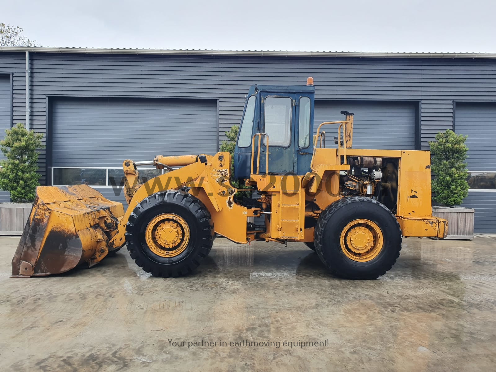 Caterpillar 950B Wheelloader