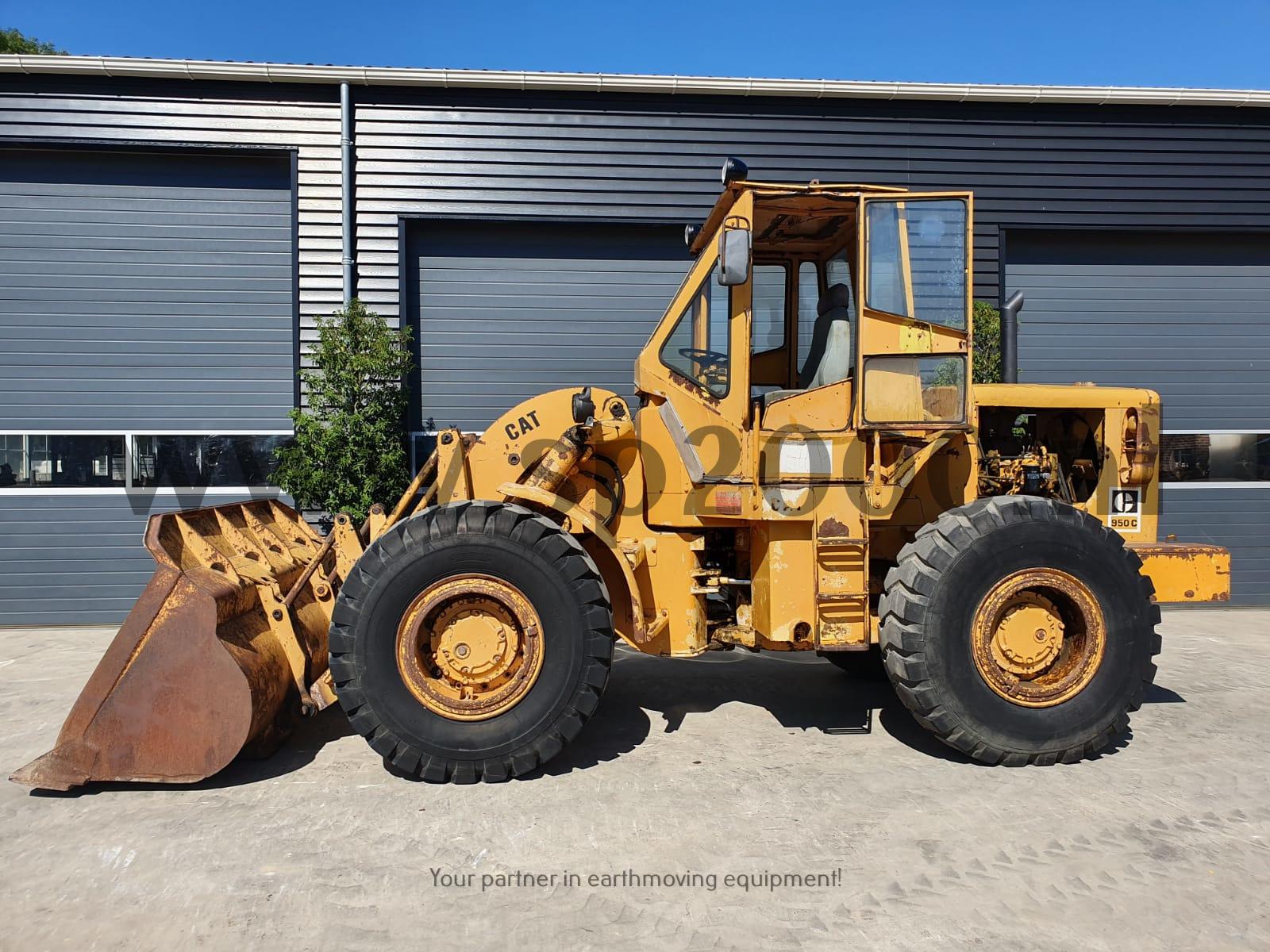 Caterpillar 950C Wheelloader
