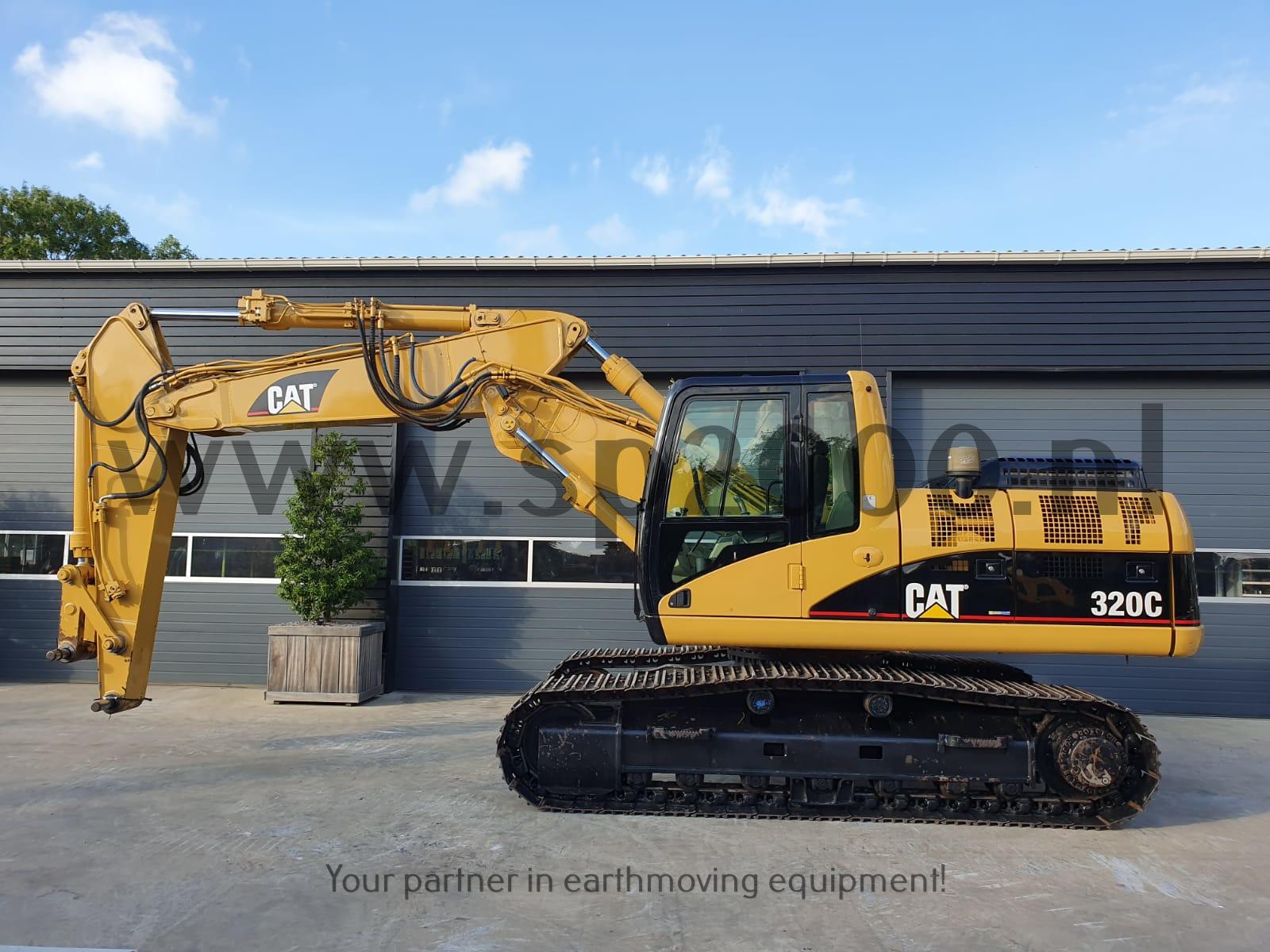 Caterpillar 320CS Track excavator