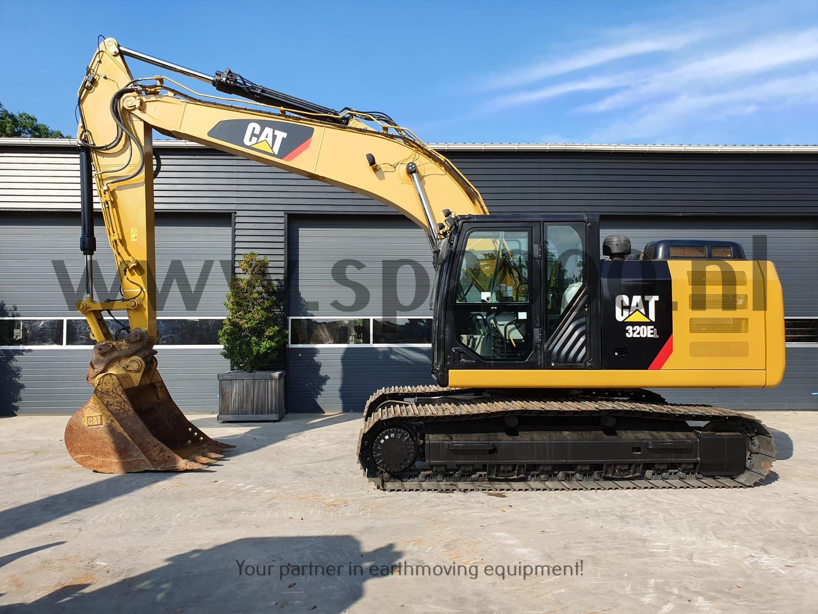Caterpillar 320EL Track excavator