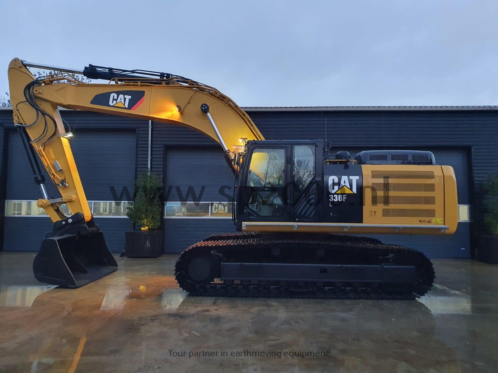 Caterpillar 336FL Track excavator