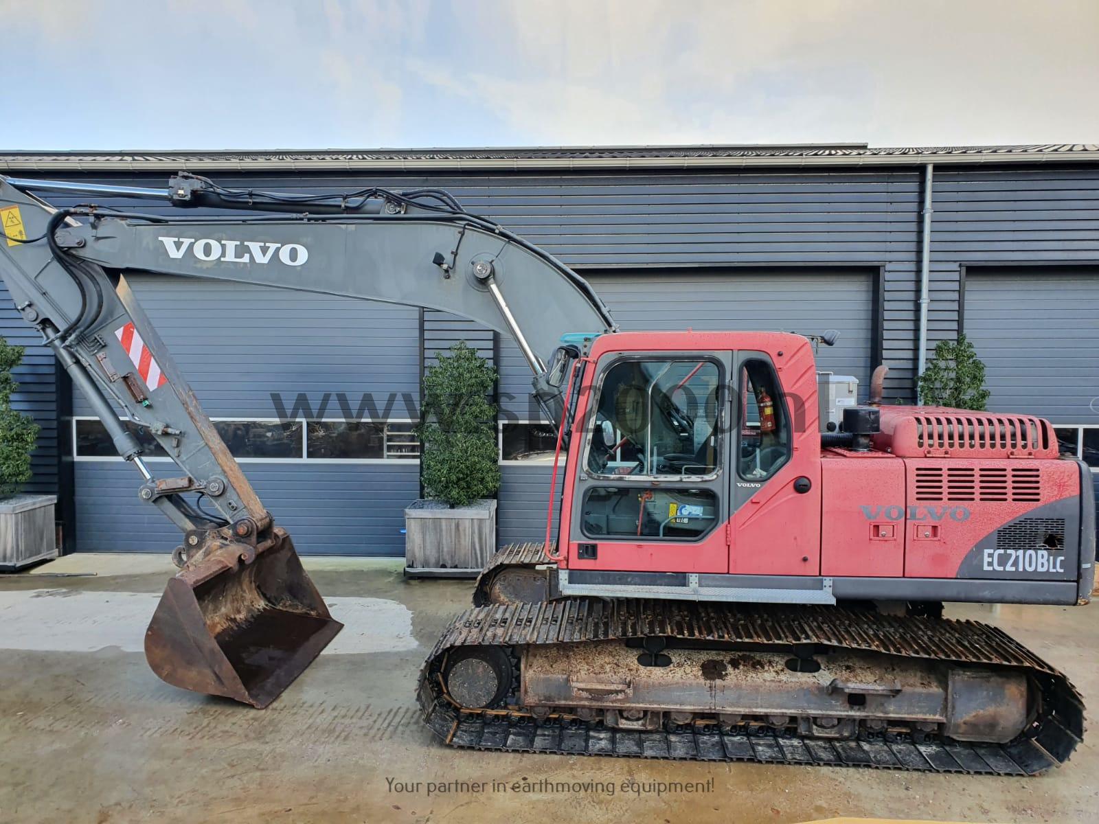 Volvo EC210BLC Track excavator