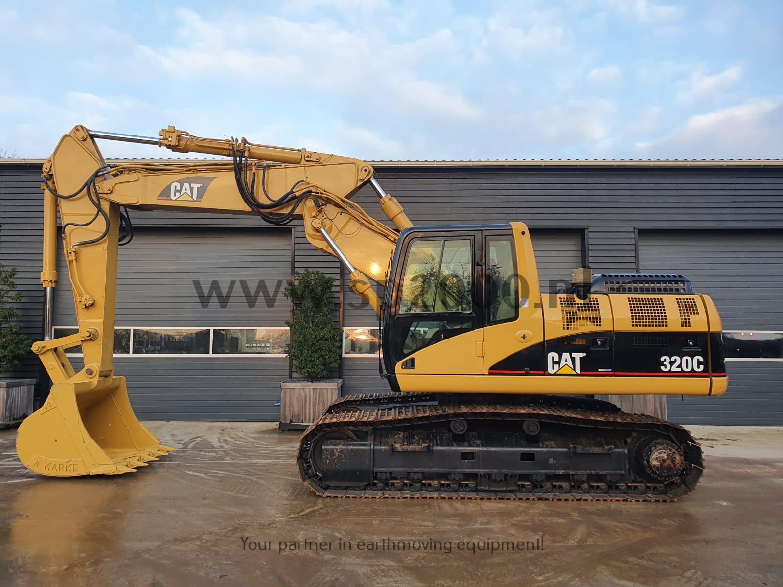 Caterpillar 320C Track excavator