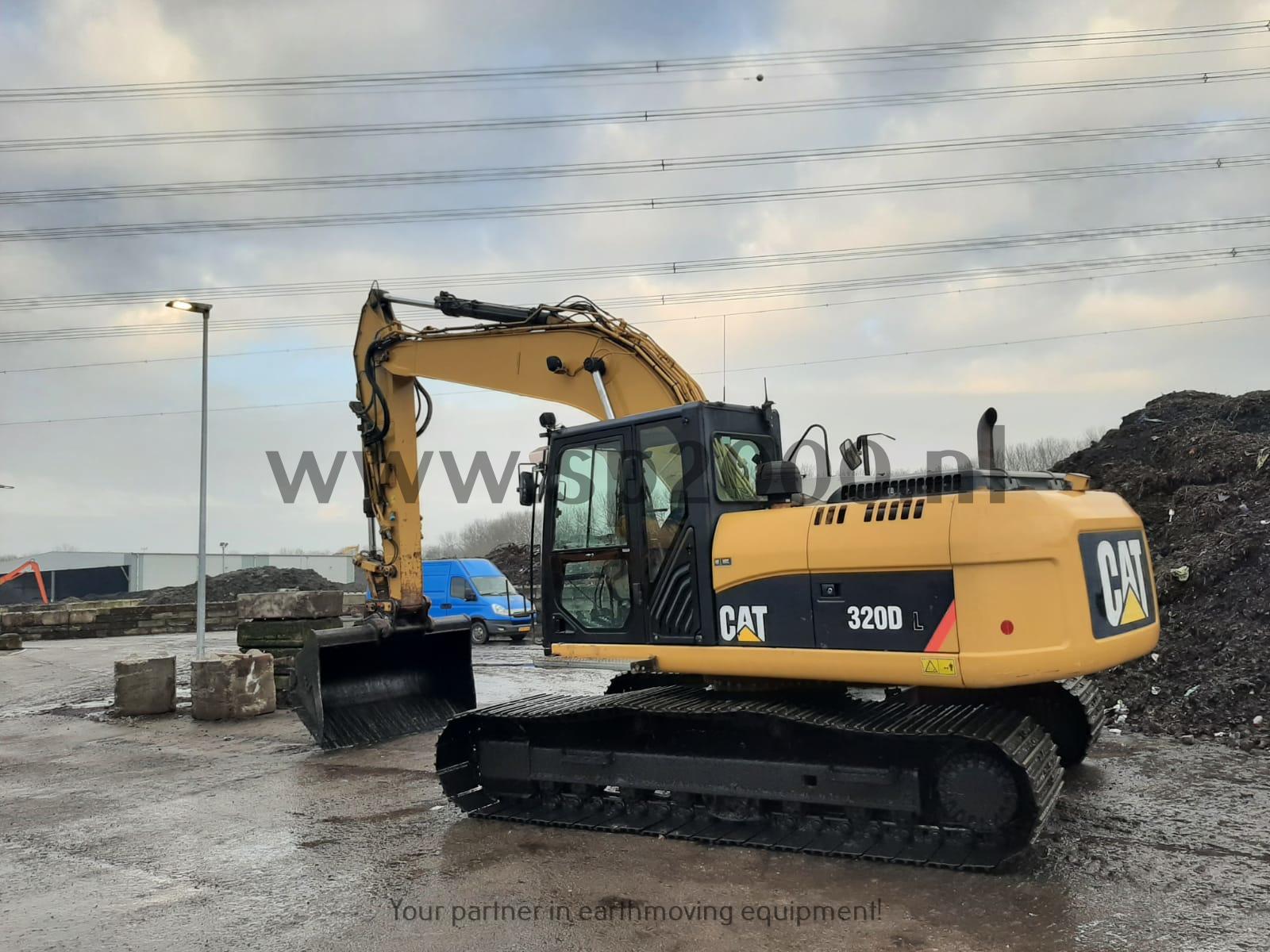 Caterpillar 320DL Track excavator