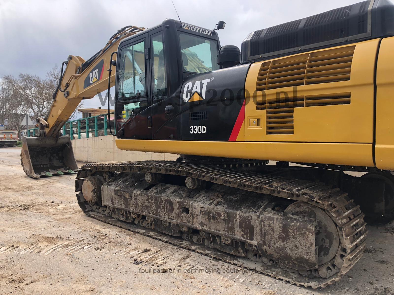 Caterpillar 330DL Track excavator