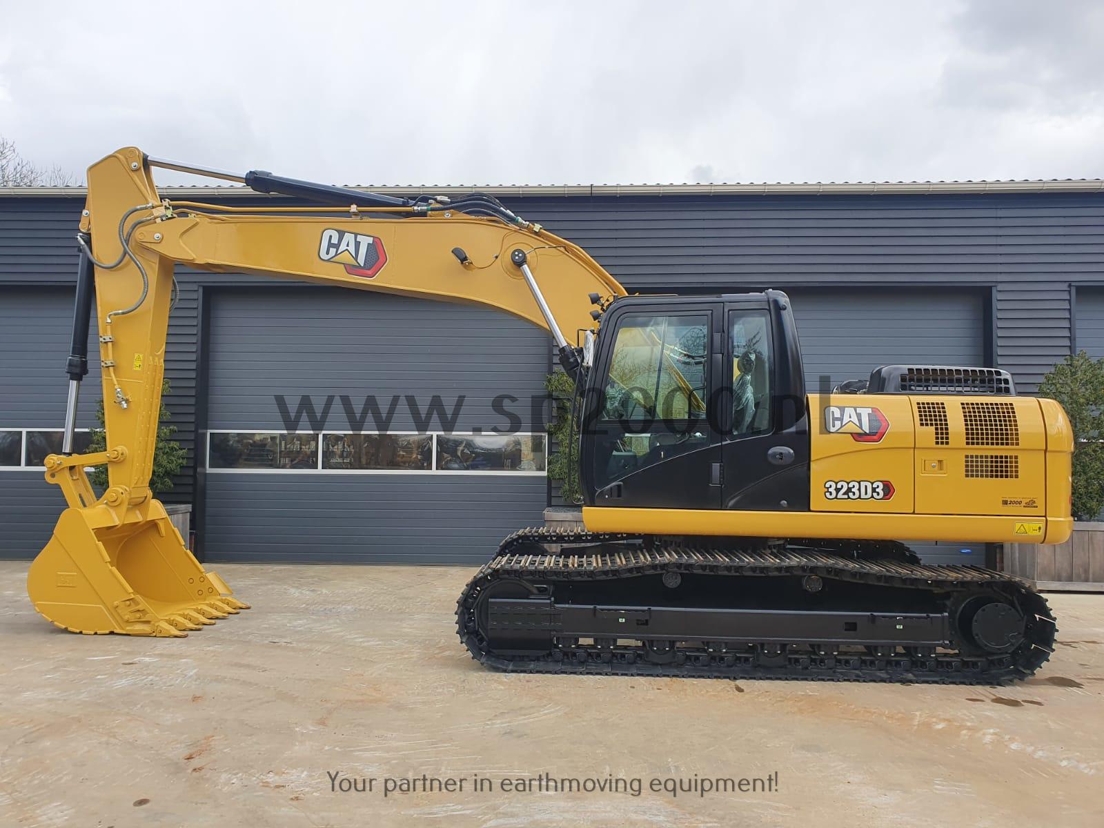 Caterpillar 323D3  NEW / unused Track excavator