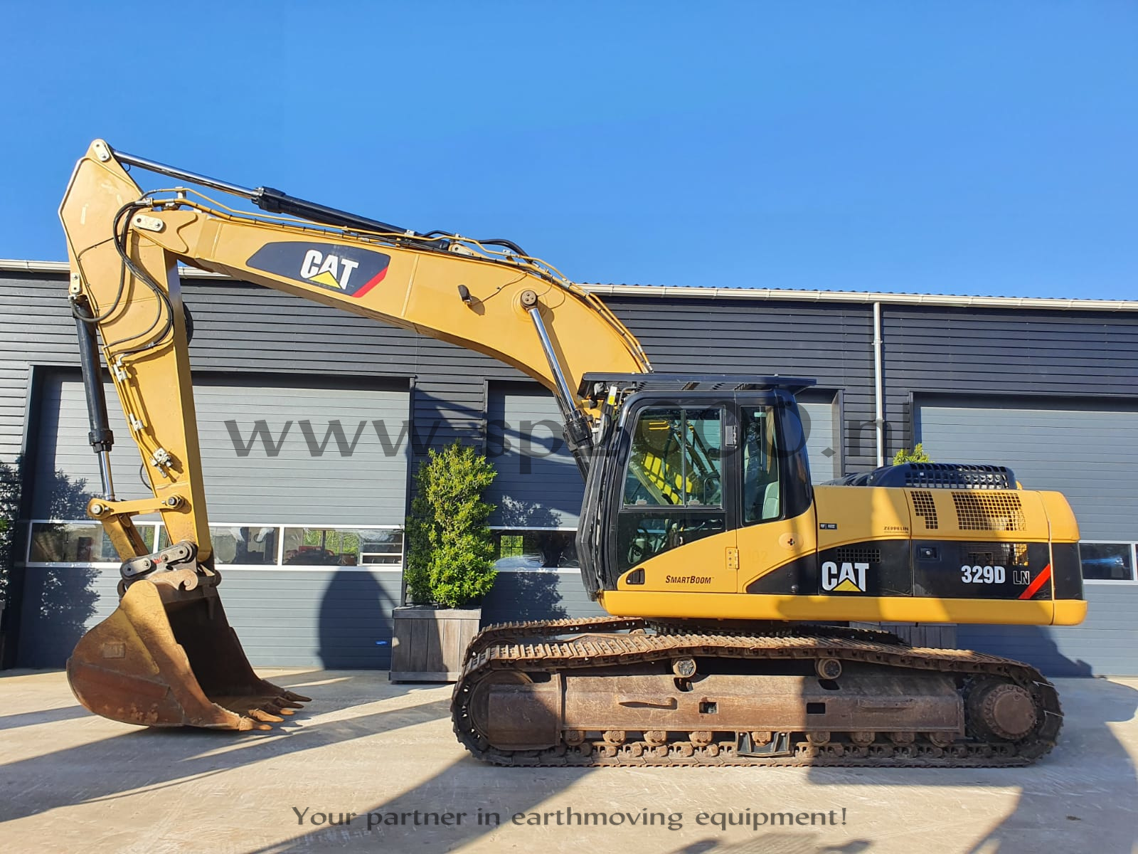 Caterpillar 329DLN Track excavator