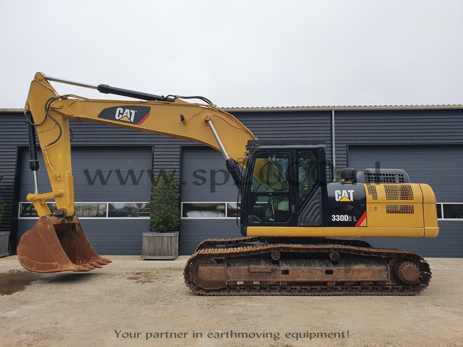 Caterpillar 330D2L Track excavator