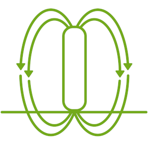 Magnetic Induction Icon
