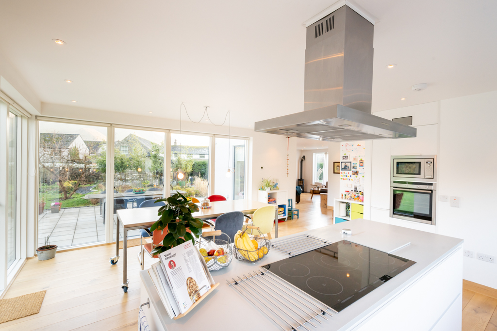 Kitchen and hobs