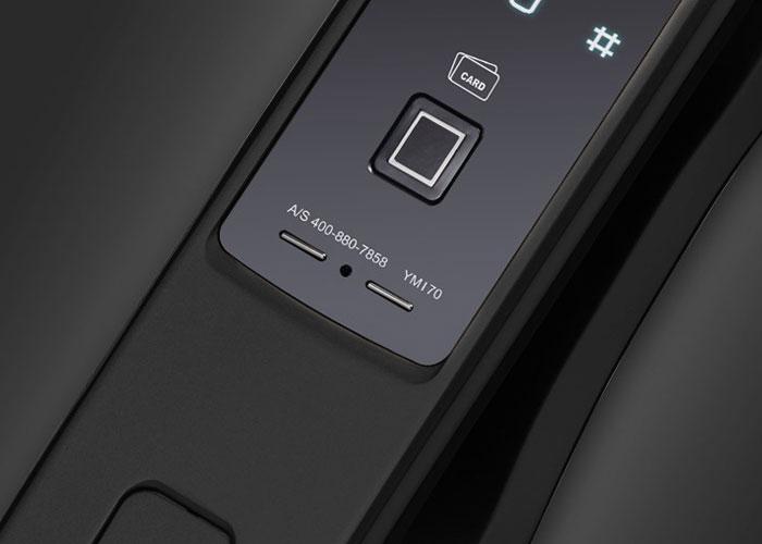 YMI70 - Black Digital Handle Door Lock