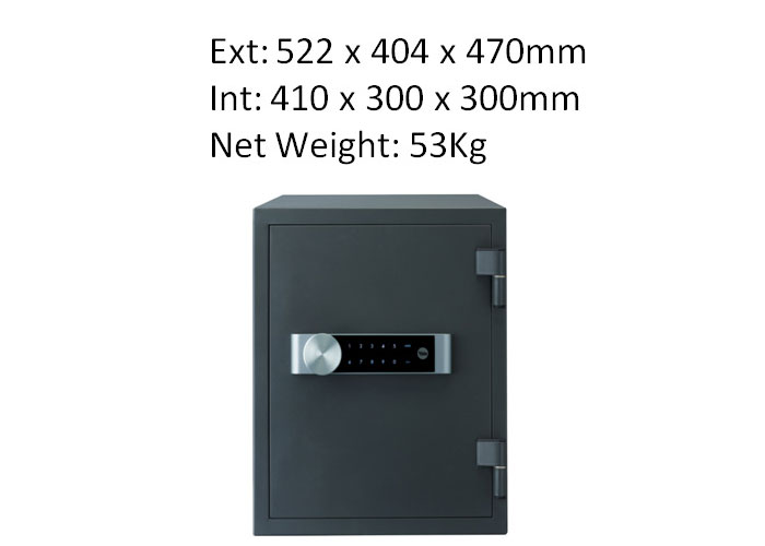 YFM/520/FG2 - Yale Electronic Document Fire Safe Box Professional (Extra Large) Safe