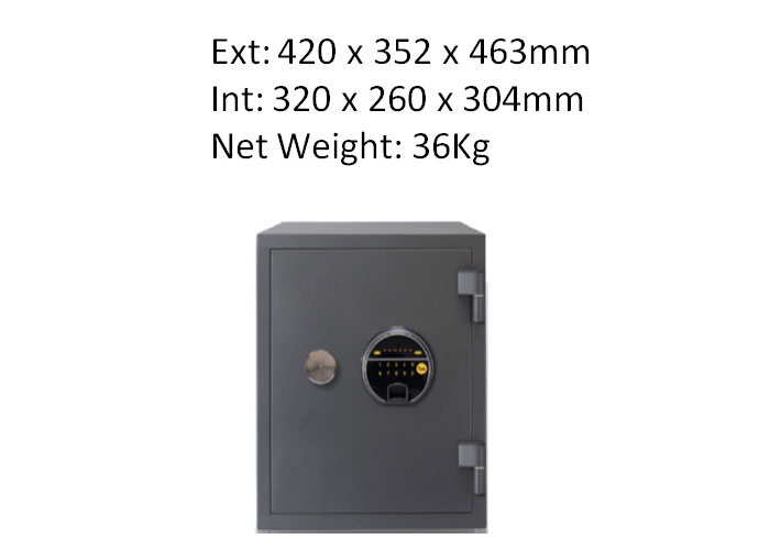 YFF/420/FG2 - Biometric Safe 420mm