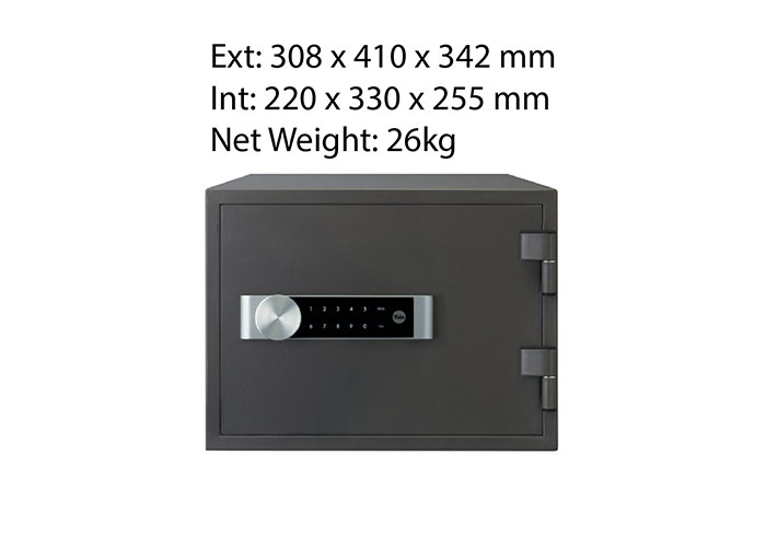 Electronic Home Document Fire Safe Box (Medium)