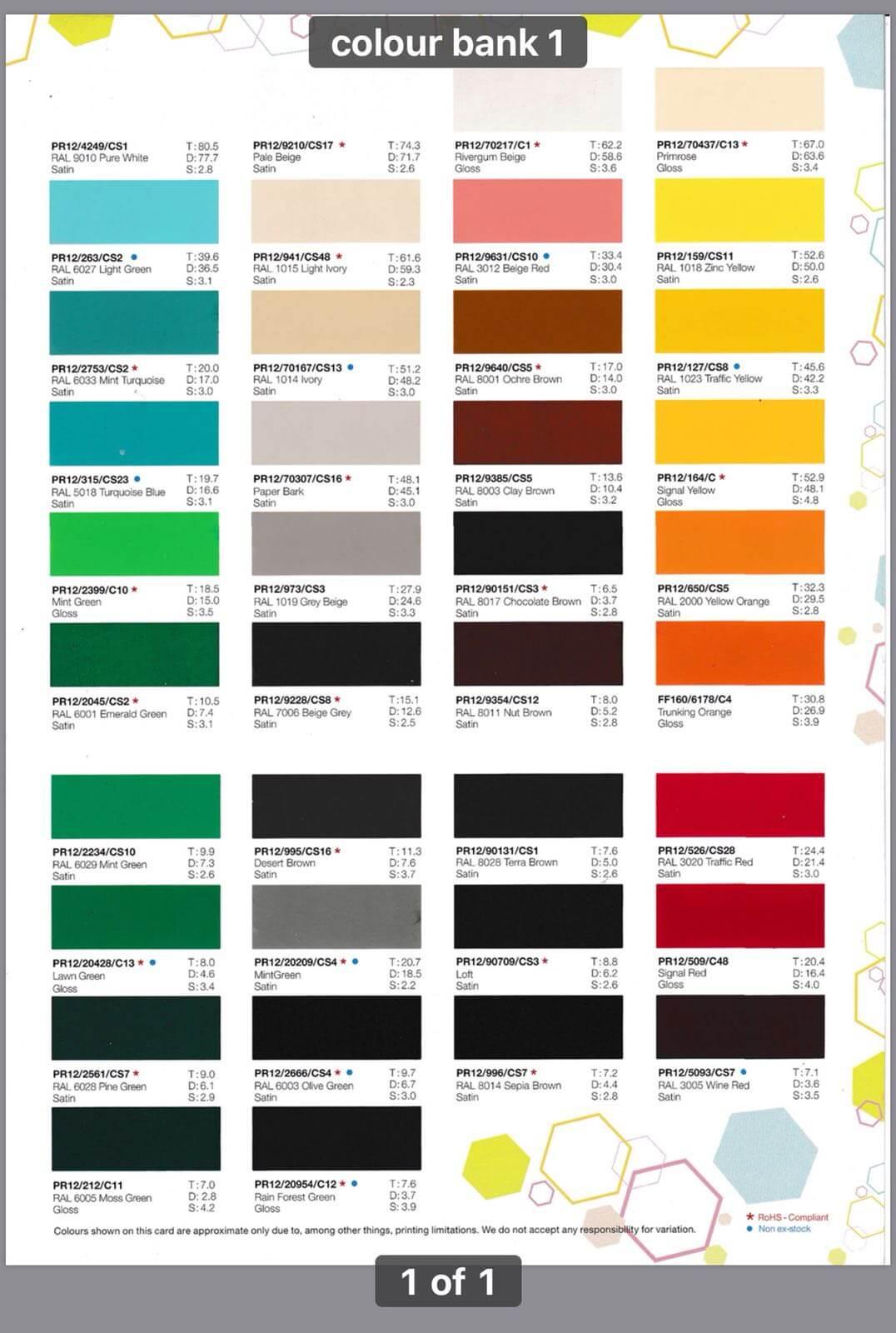 Color Bank 1