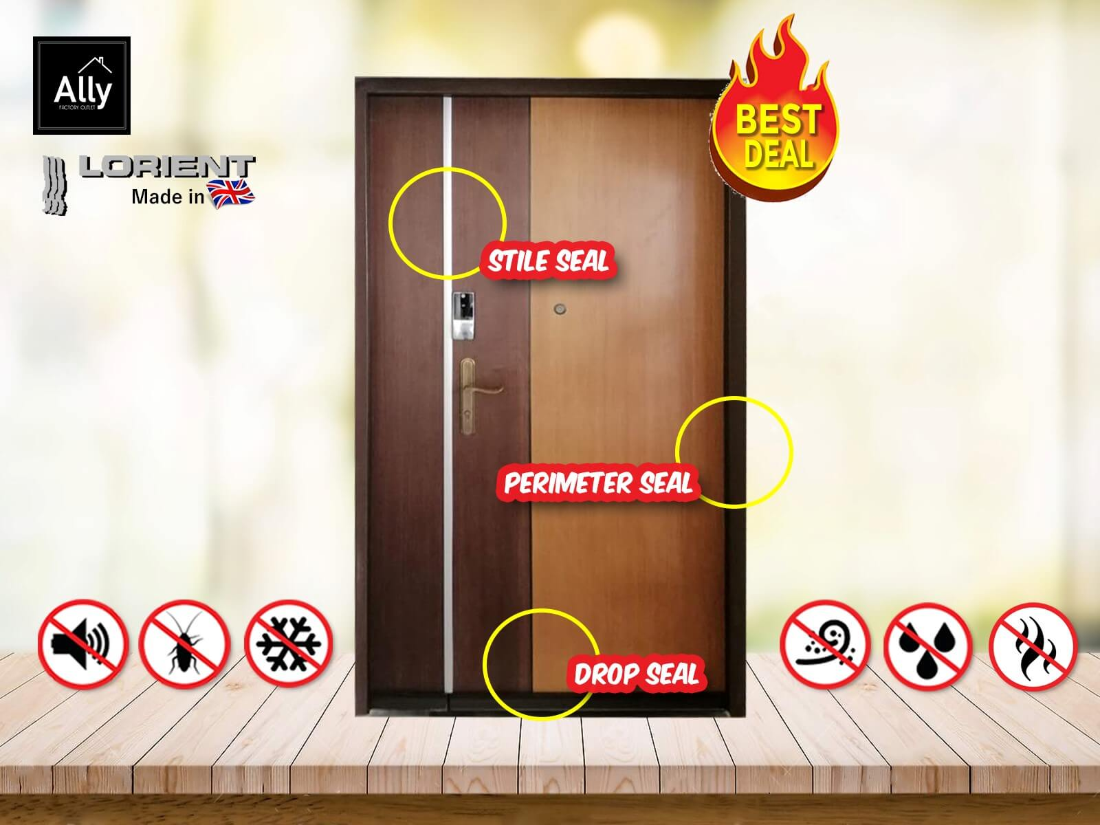 Ally Factory Outlet - Door Seal and Door Promotion 20191016 - 01