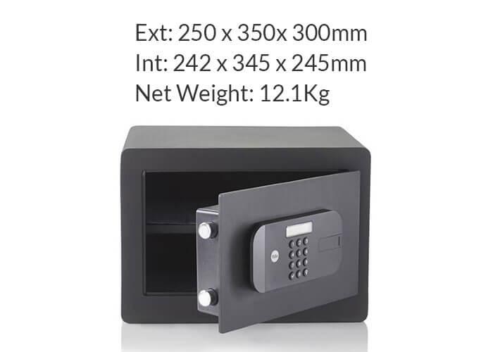 YSEB/250/EB1 - Yale High Security Home Safe - Yale High Security Motorised Safes