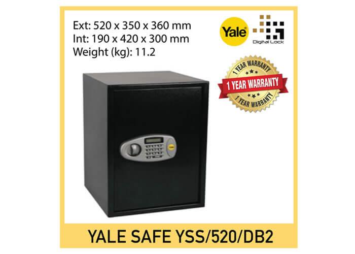 Yale Standard Digital Safe (Large Sized)