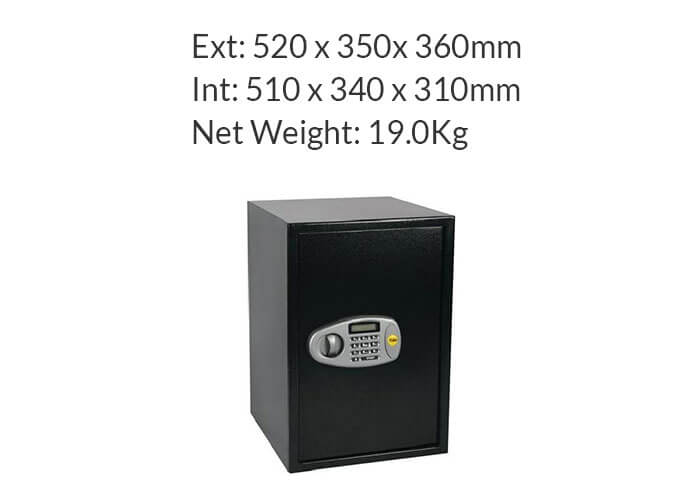 YSS/520/DB2 - Yale Standard Digital Safe (Large Sized)