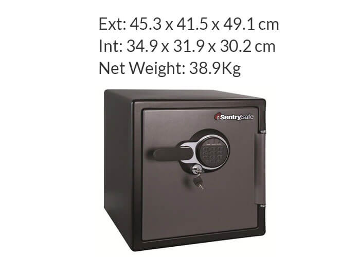 SentrySafe - SFW123GTC - Digital fire & water proof Safe