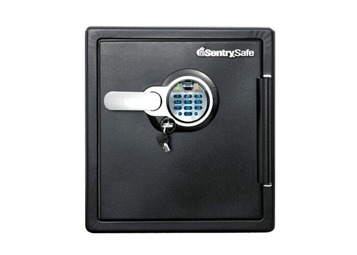 SentrySafe - SFW123BSC - Biometric fire & water proof Safe