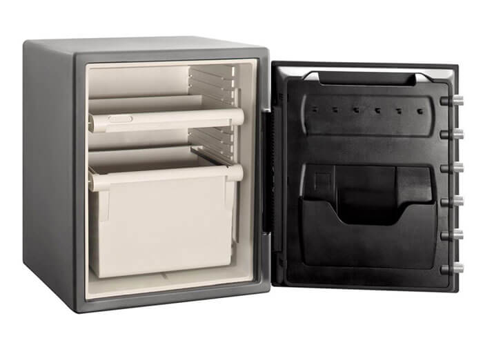 SentrySafe - SFW205DPB - Combination fire & water proof Safe