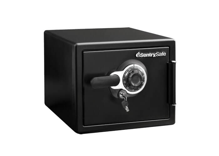 SentrySafe - SFW082DTB - Combination fire & water proof Safe