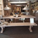 Landelijke picknickbank - meubelen landelijke stijl