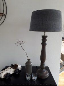 Landelijke lamp voor woonkamer